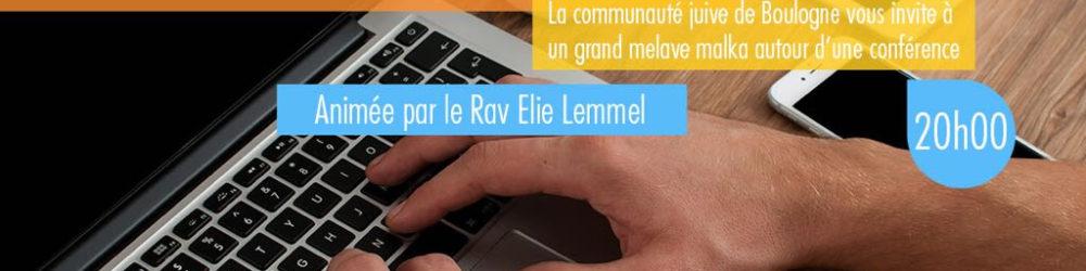 conference ACJBB Boulogne Rav Elie Lemmel Famille 2-0 nouveaux defis